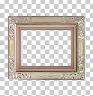 Frame Digital Photo Frame Yellow Gold PNG