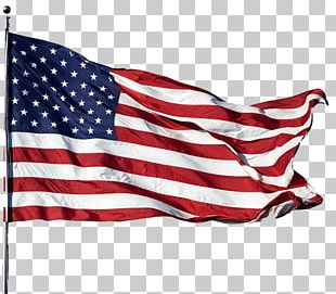 Wind American Flag PNG