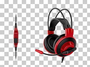 Headset Headphones Microphone MSI DS501 Micro-Star International PNG