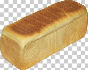 White Bread Bakery Loaf PNG