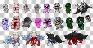 The Binding Of Isaac: Afterbirth Plus Seven Deadly Sins Boss Indie Game PNG