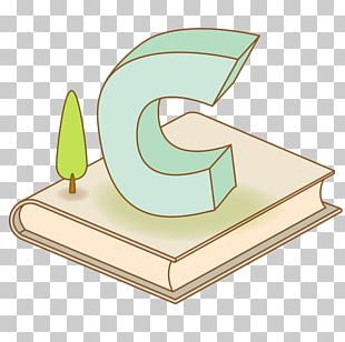 Book Letter C PNG