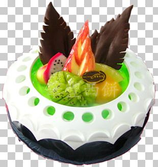 Ice Cream Birthday Cake Chiffon Cake Black Forest Gateau PNG