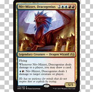 Magic: The Gathering Commander Niv-Mizzet PNG
