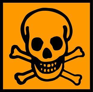 Warning Sign Hazard Symbol Death Human Skull Symbolism PNG