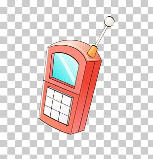 Cartoon Telephone Mobile Phones PNG