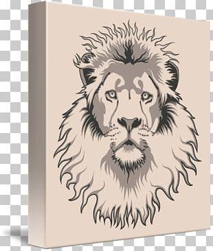 Lionhead Rabbit Drawing PNG