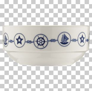 Bowl Ceramic Porcelain Blue And White Pottery Cobalt Blue PNG