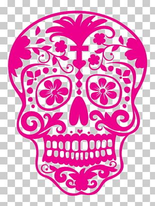 Calavera Day Of The Dead Mexican Cuisine Skull PNG