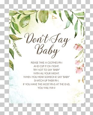 Wedding Invitation Baby Shower Infant Bridal Shower PNG
