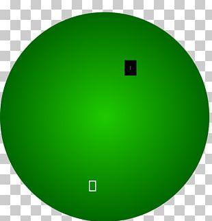 Circle Angle Green Font PNG