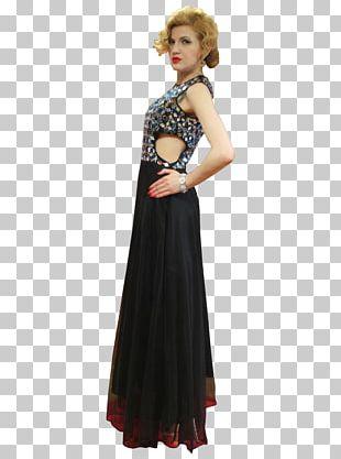 Cocktail Dress Gown Shoulder Cocktail Dress PNG