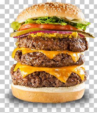 Hamburger Veggie Burger Fatburger Restaurant Cheese PNG