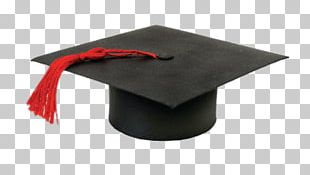 Graduation Hat With Red Tassel PNG
