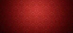 Red Textured Background Vintage Continental PNG