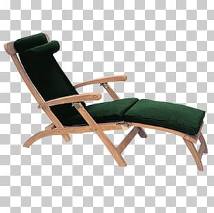 Chaise Longue Cushion Garden Furniture Chair Teak Furniture PNG