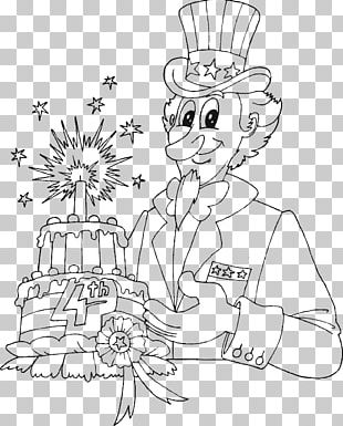 Independence Day Coloring Book Uncle Sam United States Child PNG
