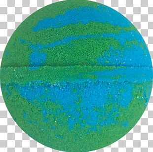 Turquoise Sphere PNG