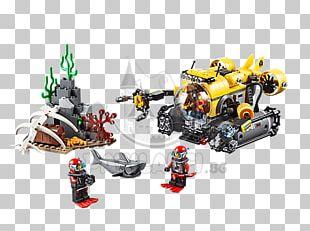 LEGO 60092 City Deep Sea Submarine Lego City LEGO 60095 City Deep Sea Exploration Vessel Toy PNG
