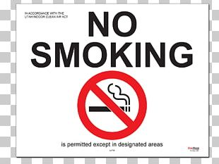 Smoking Ban Medical Sign Compliance Signs PNG