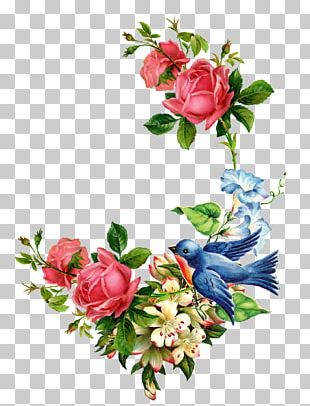Flower Watercolor Painting Decoupage Rose PNG