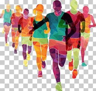 Running London Marathon The Color Run Sport PNG