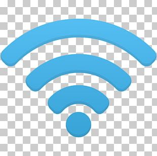 Wi-Fi Signal Strength In Telecommunications Icon PNG