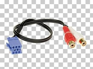 Phone Connector Vehicle Audio RCA Connector Adapter Electrical Cable PNG