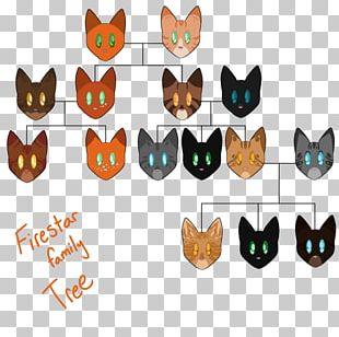 Cat Firestar Warriors Tigerstar Family PNG