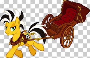 Horse Chariot Rickshaw PNG