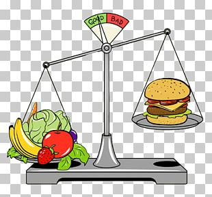 Junk Food Fast Food Healthy Diet Measuring Scales PNG