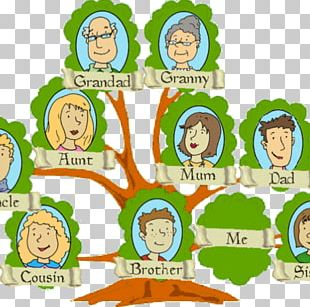 Family Tree Genealogy Child Template PNG