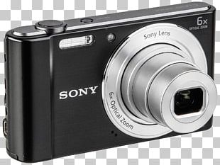 Digital SLR Sony Cyber-shot DSC-W800 Camera Lens Point-and-shoot Camera PNG