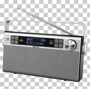 Radio Sencor SRD210BGN Digital Audio Broadcasting FM Broadcasting Sencor SRD 220 BPK Pink Radio PNG