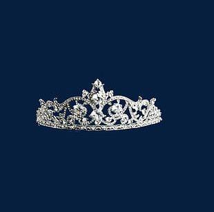 Crystal Diamond Crown Tiara PNG