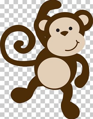 Monkey Baby Shower Template Infant PNG