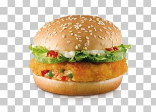 Veggie Burger Hamburger Vegetarian Cuisine Cheeseburger McDonald's Big Mac PNG