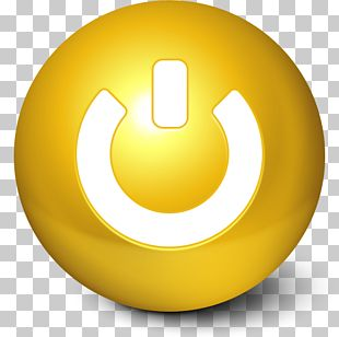 Symbol Yellow Sphere PNG