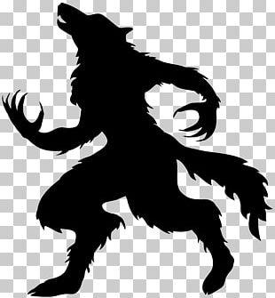 Werewolf Halloween PNG