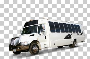 Luxury Vehicle Bus Commercial Vehicle Transport Car PNG