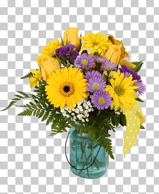 Flower Bouquet Transvaal Daisy Cut Flowers Floral Design PNG