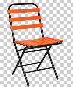 Table No. 14 Chair Folding Chair Garden Furniture PNG