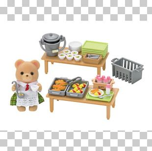 Sylvanian Families School Meal Food Lunch PNG