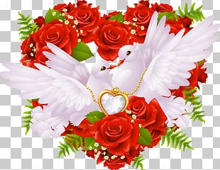 Love Rose Heart PNG