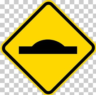 Traffic Sign Road Speed Bump Warning Sign PNG