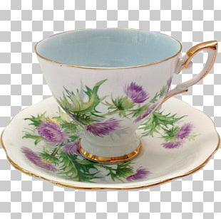 Coffee Cup Saucer Porcelain Bone China Teacup PNG
