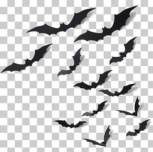 Batman Halloween Illustration PNG