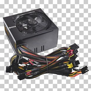 Power Supply Unit 80 Plus EVGA Corporation Power Converters Computer PNG