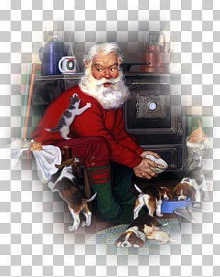 Santa Claus Christmas Card Christmas Dinner Father Christmas PNG