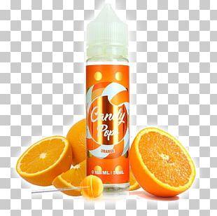 Orange Juice Electronic Cigarette Aerosol And Liquid Cocktail PNG